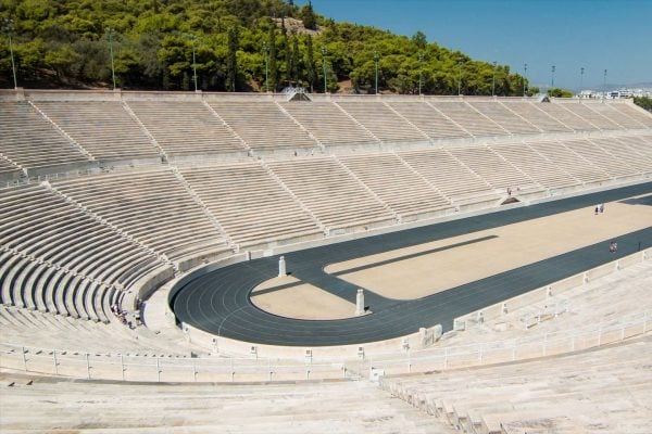 panathenan stadium in athens