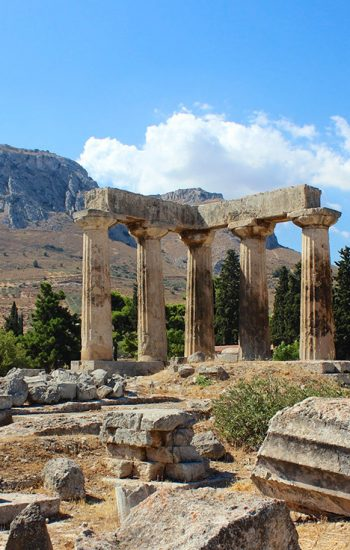 Panorama of culture 8-hour epic Athens, Corinth private tour