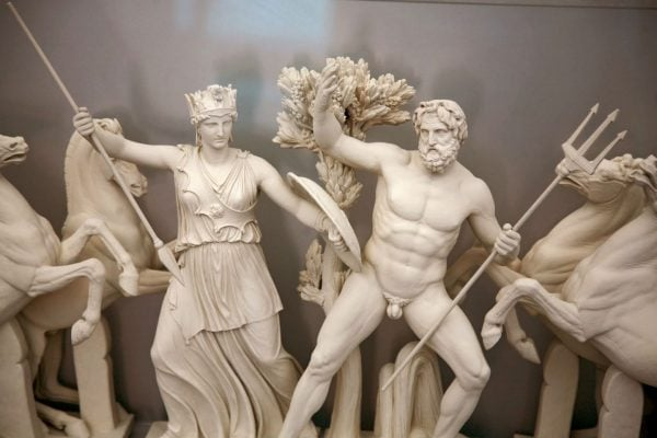 athena and poseidon fight for athens