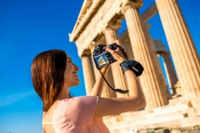 The photography private tour of Athens, Half-day