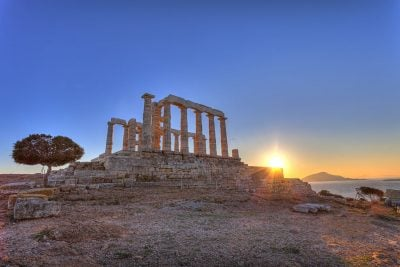 Full day city tour in Athens, its riviera and Poseidon's temple in Sounion