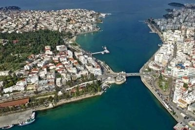 Athens city and the phenomenon of Chalkis in Evia island