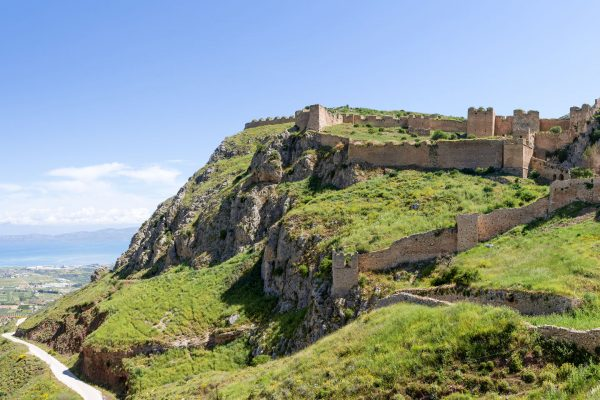 Acrocorinth Fortress Greece