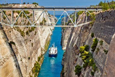 Half-Day shore tour to Corinth Canal and wineries of Nemea