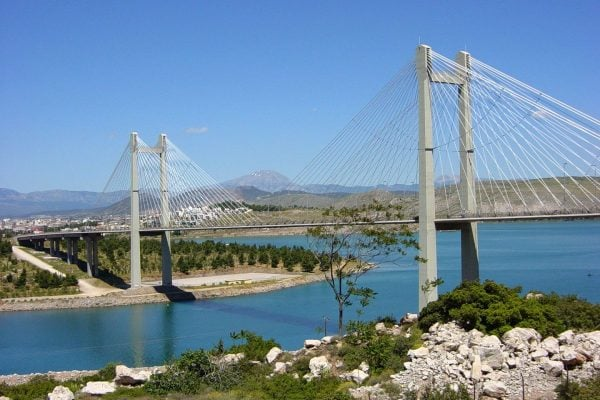 new evia bridge