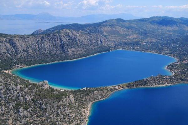 Hraion Voukiagmeni Lake
